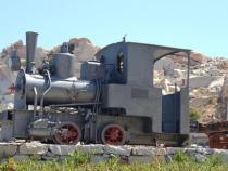 Locomotiva per il trasporto del granito - Cala Francese